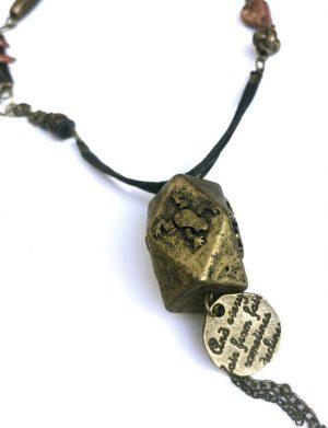 "Pandantiv bronz ""DropB"", AHGL12590"