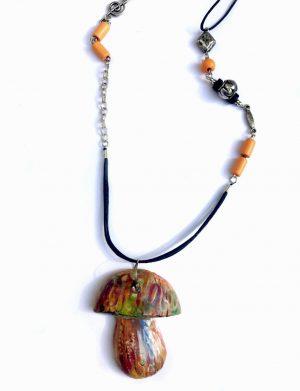 """Pandantiv ciuperca colorata """"PsyM"""", AHGL12613"""