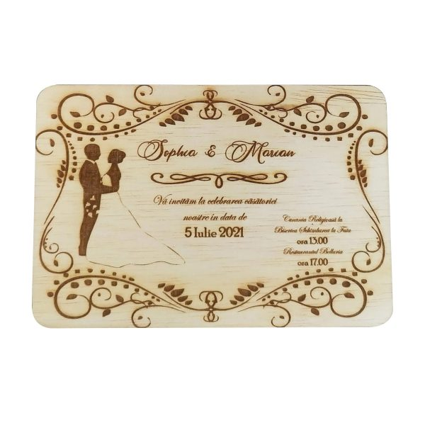 Invitatie nunta placaj OMIS 23hEvents 9 rotated