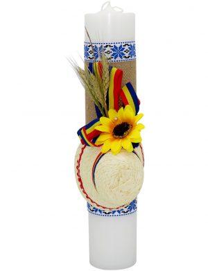 Lumanare botez model Traditional Baietel ILIF1822 23h Events 1 1