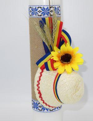 Lumanare botez, model traditional Baietel – ILIF1822