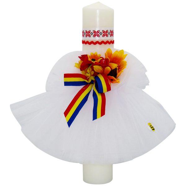Lumanare botez model Traditional Fetita ILIF1823 23h Events 1 1