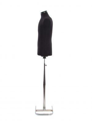 Manechin barbatesc, negru cu picior metalic – ILIF1829