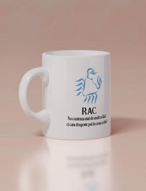 Cana ceramica personalizata, zodia RAC – OPB1910