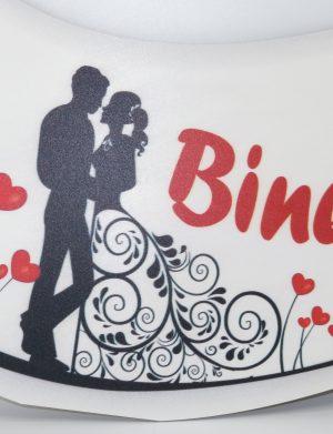 Pancarta nunta, Bine ati venit – ILIF1820