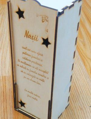 Cutie pentru sticla de vin Nasi – OMIS01280