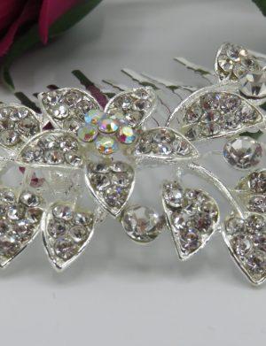 Piptan bijuterie pentru mireasa, cu cristale stralucitoare – ILIF1945