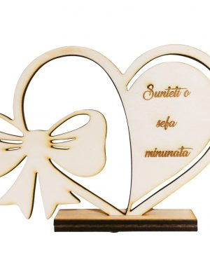 Decoratiune din lemn pentru Cea mai buna SEFA – OMIS01213