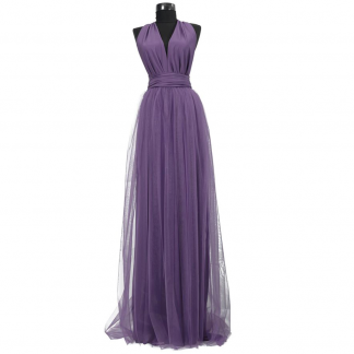 Rochie lunga cu tulle 23h Events 13