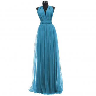Rochie lunga cu tulle 23h Events 16