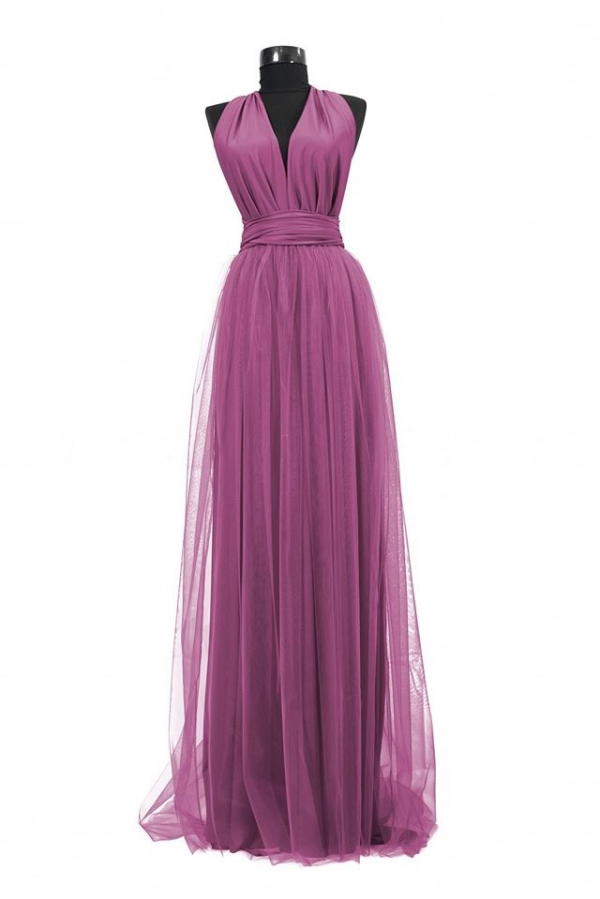 Rochie lunga cu tulle 23h Events 2 1