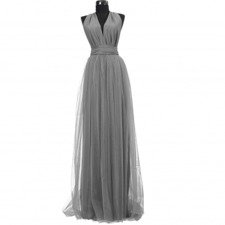 Rochie lunga cu tulle 23h Events 7