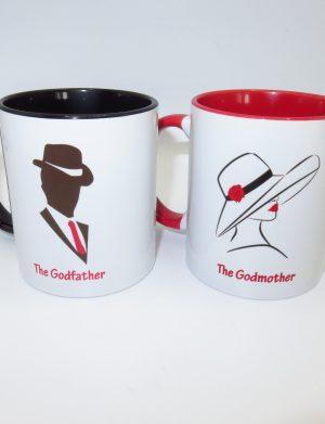 Set de 2 căni, The Godfather si The Godmother, ILIF1637