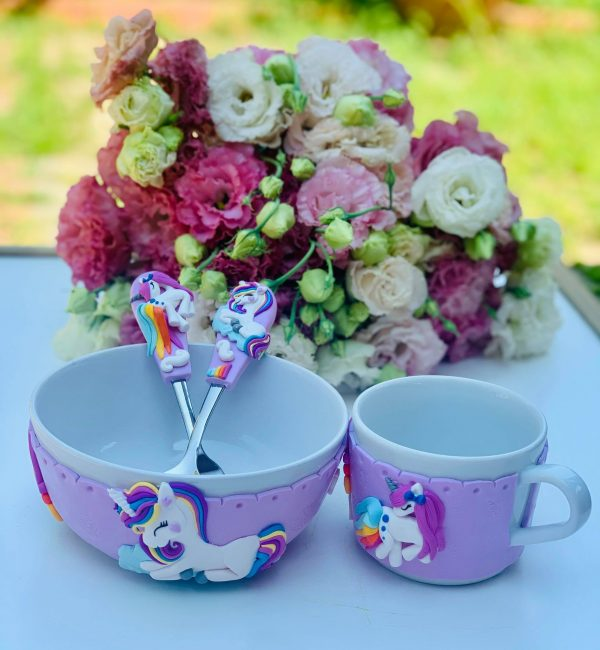 Set Bol Cana Si Tacamuri Personalizat Unicorni 5