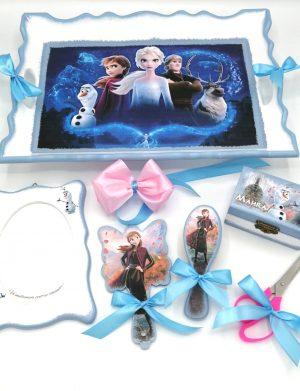 Set Tavita Mot Elsa, 7 piese, nepersonalizat pentru aniversarea de 1 an a fetitei