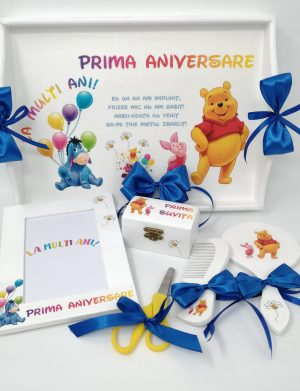 Set Mot Winnie The Pooh, 7 piese, nepersonalizat, SDSPH184