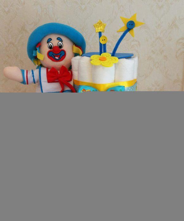 Tort Scutece Botez 6 1