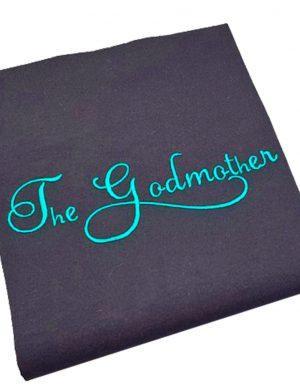 Tricou Nasa pentru petrecerea burlacitelor cu mesajul The Godmother – MTB002