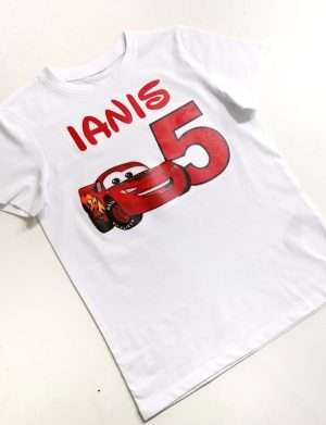 Tricou personalizat copil, aniversare 5 ani, ACD1613