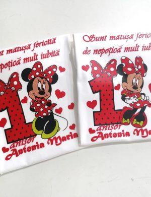 Set 2 tricouri personalizate, aniversare 1 an copil, ACD1617