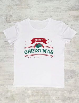 Tricou Merry Christmas 1, personalizat prin DTG – ACD1101