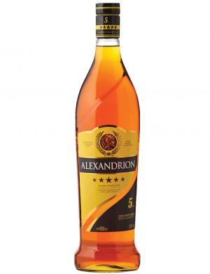 Alexandrion 5 stele, alc. 37,5%, 1 litru