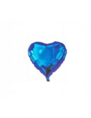 Balon Folie Inima, Bleu, ILIF1615