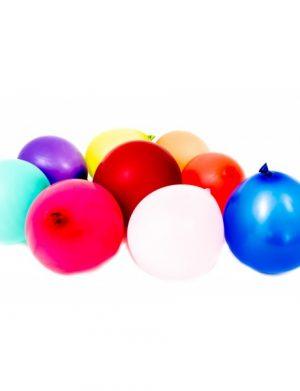 Baloane Latex Sidefate, Albastru, 100buc/Set, ILIF162