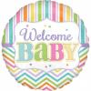balon folie 45 cm welcome baby colors 1