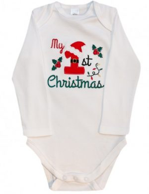 Body personalizat MY FIRS CHRISTMAS SANTA'S HAT MTB0022