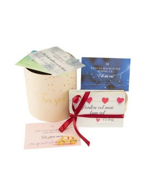 52 Motive Ești Cel Mai Bun Soț, diverse modele de mesaje si cutii, cadou sot, multicolor