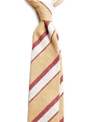 cravata matase dungi crem visinie C195 2700 4