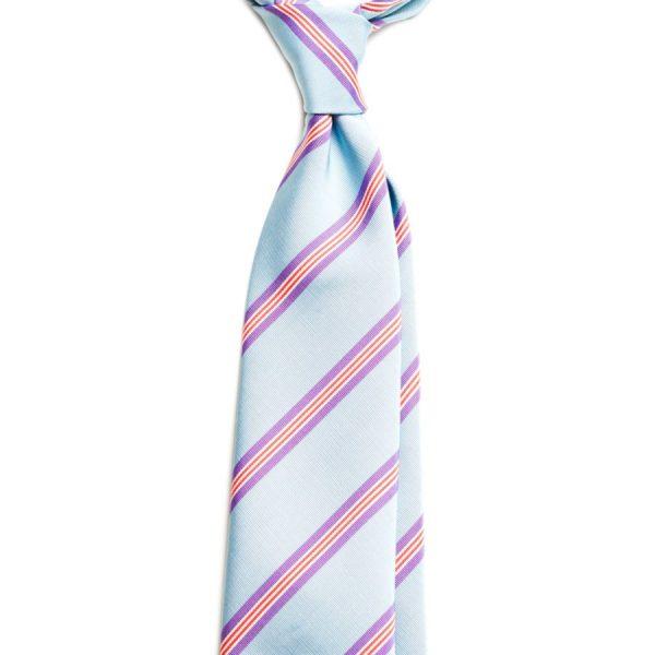 cravata matase model cu dungi c315 4153 4
