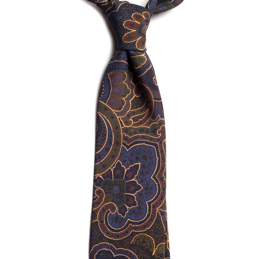cravata matase model paisley c503 10239 4