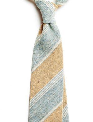cravata matase regimental bleu sept 2691 4