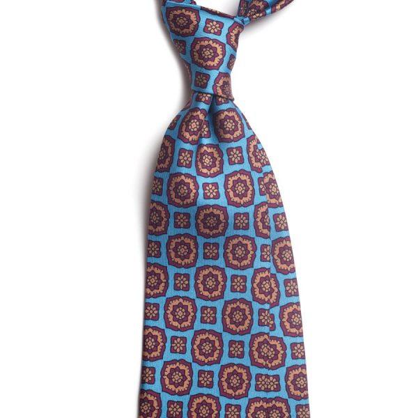 cravata matase vintage medalion c447 9184 4