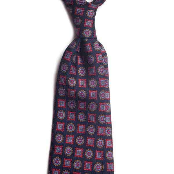 cravata matase vintage medallion c446 9159 4