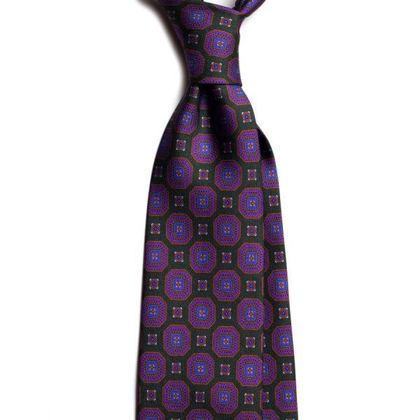 cravata matase vintage medallion c496 10134 4