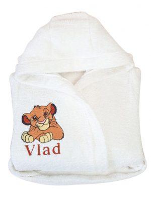 Halat de baie personalizat Simba- Regele Leu – AAPH169