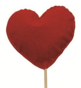 Inimioara din fetru umpluta cu lavanda, ILIF1420