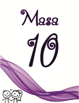 Numar Masa realizat in tema evenimentului si in ton cu marturiile achizitionate, DSBC192