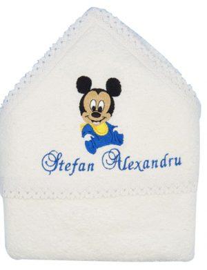 Prosop Cu Gluga Personalizat Baby Mickey – MTB521