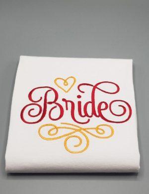 Tricou Mireasa pentru petrecerea burlacitelor cu mesajul Bride – MTB001